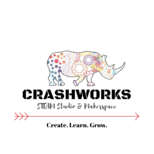 CRASHWORKS STEAM Studio and Makerspace Logo